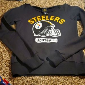 Steelers off the shoulder sweater